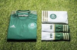 Kit home Palmeiras 2014 adidas