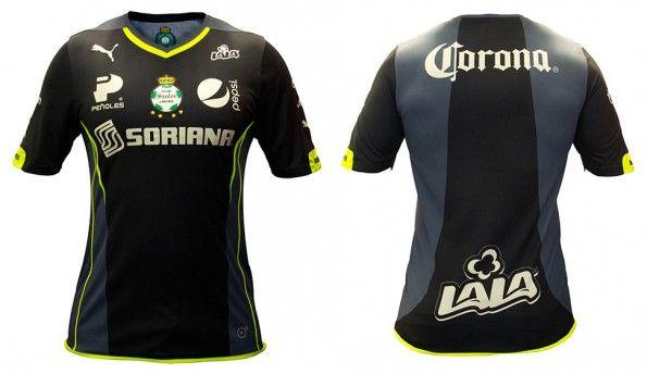 Seconda maglia Santos Laguna 2014