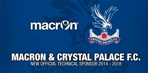 Macron sponsor Crystal Palace