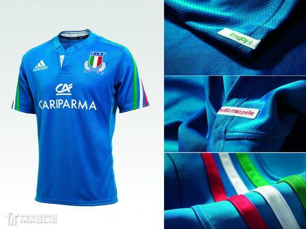 Maglia Italia rugby 2014 adidas