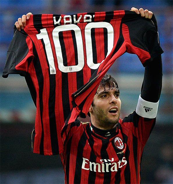 Maglia celebrativa Kakà 100 gol Milan