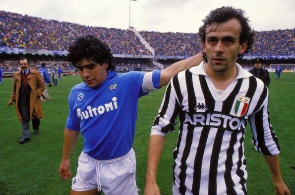 Maradona Platini, Napoli-Juventus, 1986-1987