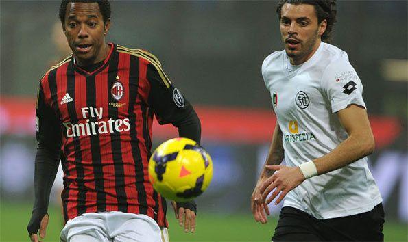 Milan-Spezia Coppa Italia
