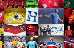 Maglie Mondiali 2014 Brasile