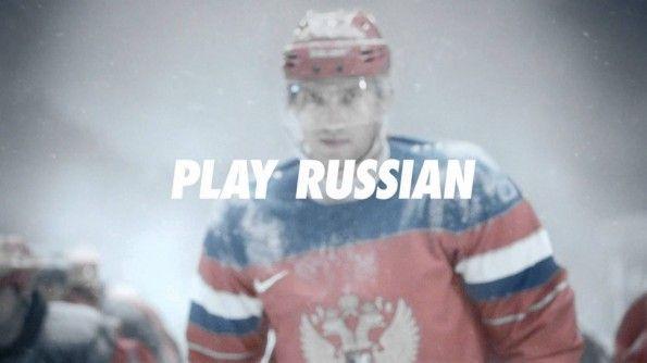 "Nike, spot ""Play Russian"""