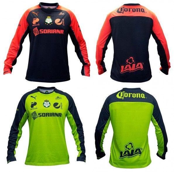 Maglie portiere Club Santos Laguna 2014