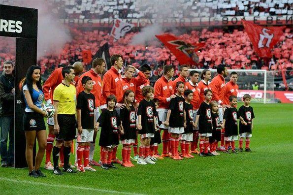 Pre-partita Benfica Porto bambini