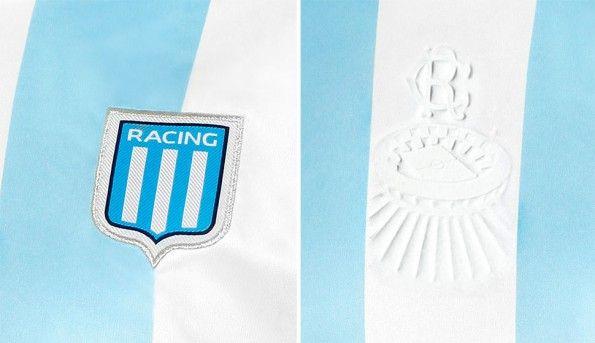Dettagli maglia Racing Club 2014