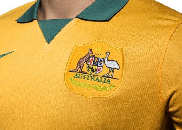 Stemma Australia maglia Nike 2014