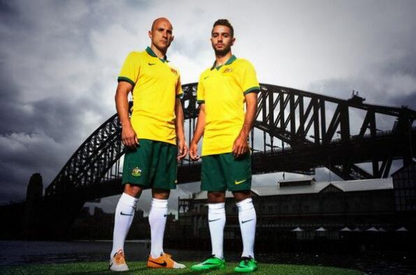 Kit Australia home 2014 World Cup