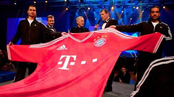 Presentazione sondertrikot Bayern Monaco 2014