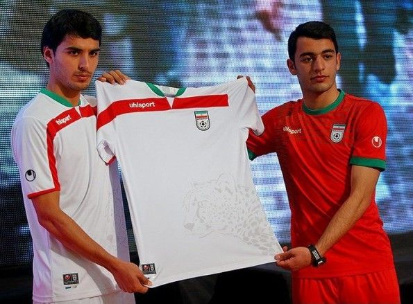Maglia Iran 2014 Mondiali