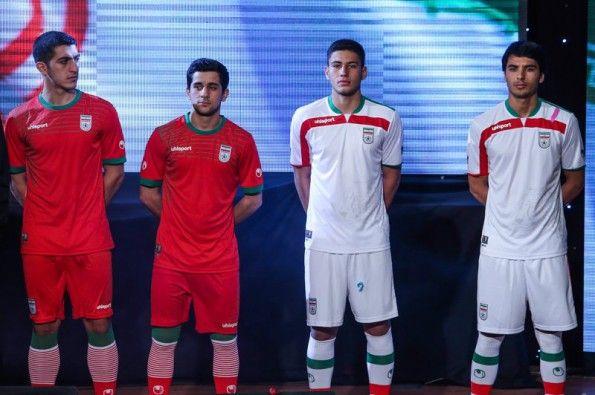 Divise Iran 2014 Uhlsport