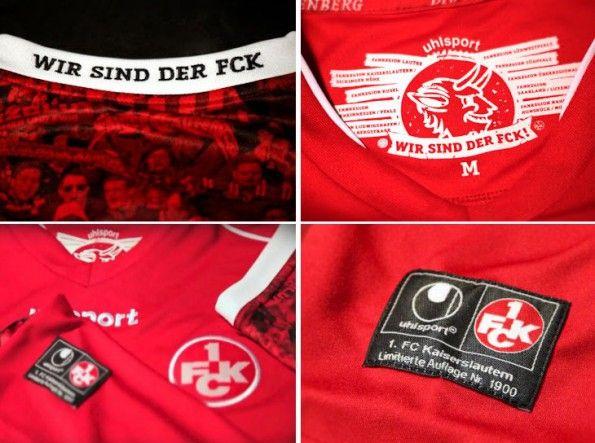 Dettagli kit speciale Kaiserslautern 2014