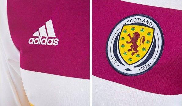 Magllia away Scozia 2014 dettagli