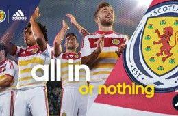 Presentazione maglia away Scozia 2014