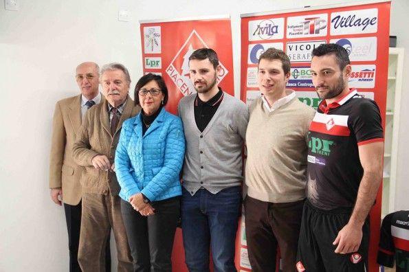 Presentazione terza maglia Piacenza 2013-14