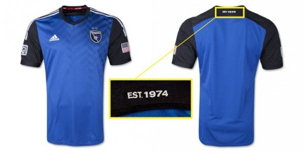 Maglia San Jose Earthquakes 2014 home