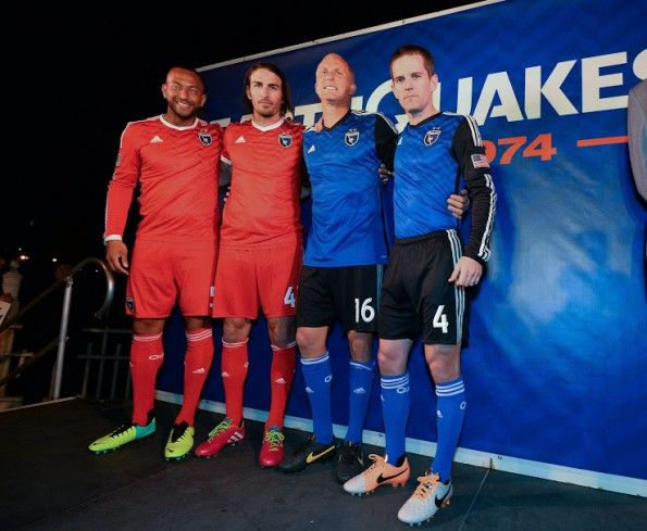 San Jose Earthquakes kit 2014 adidas