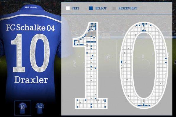 Numero foto tifosi Schalke 04 2014-15