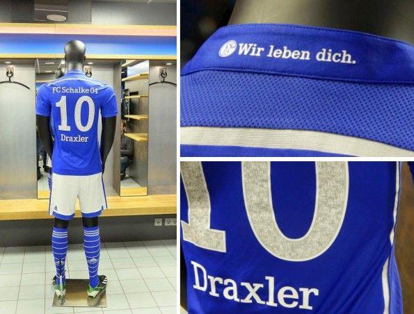 Schalke 04 home kit 2014-2015 adidas