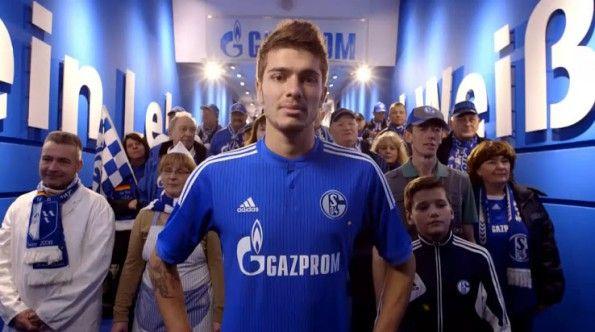 Schalke 04 presentazione maglia 2014-15