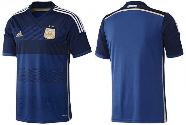 Seconda maglia Argentina 2014 adidas