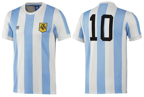 Maglia Argentina retrò adidas 2014
