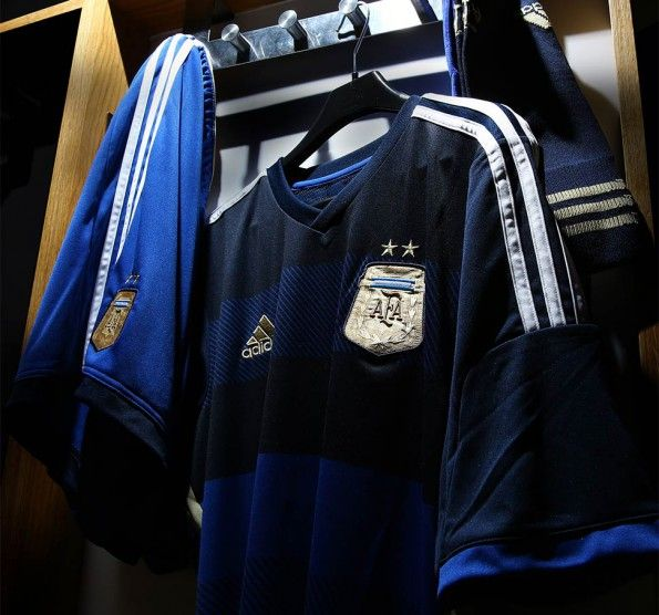 Casacca trasferta Argentina 2014