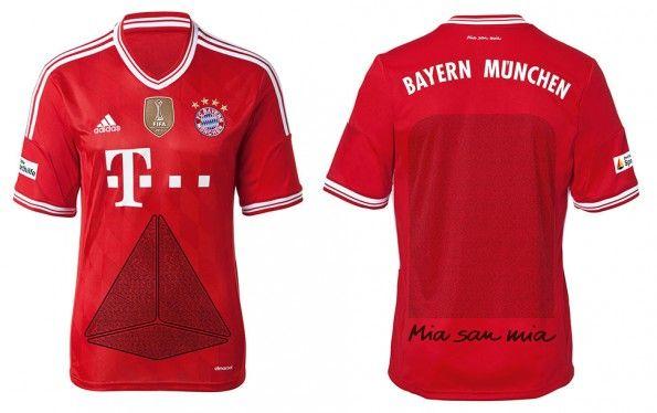 Maglia speciale tifosi Bayern Monaco 2014