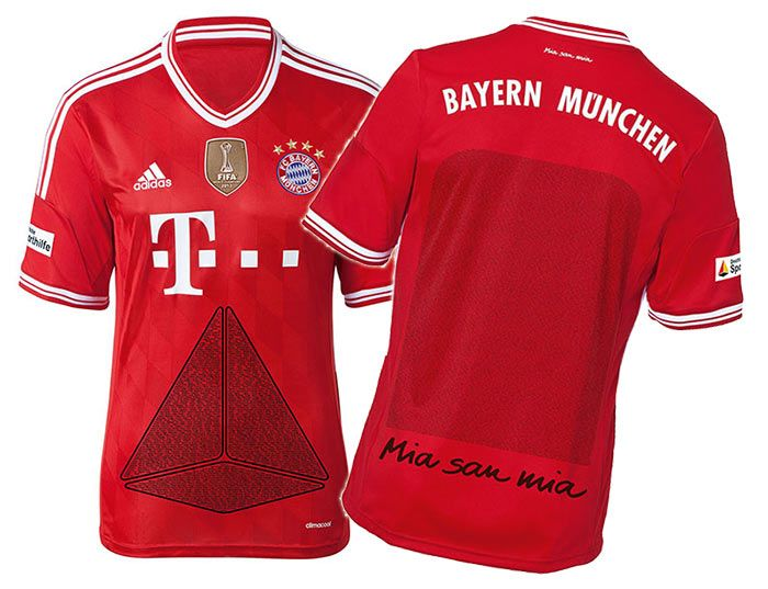 Sondertrikot Bayern Monaco 2013-2014