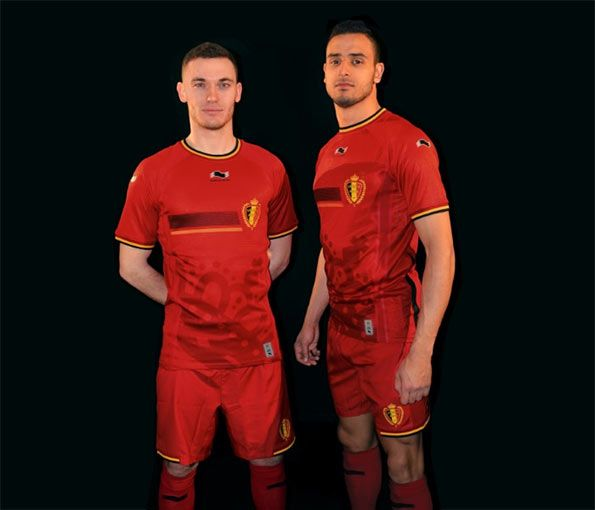 Belgio kit home 2014 Burrda