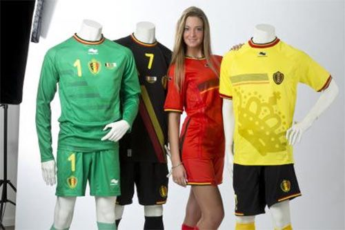 Belgium kit World Cup 2014