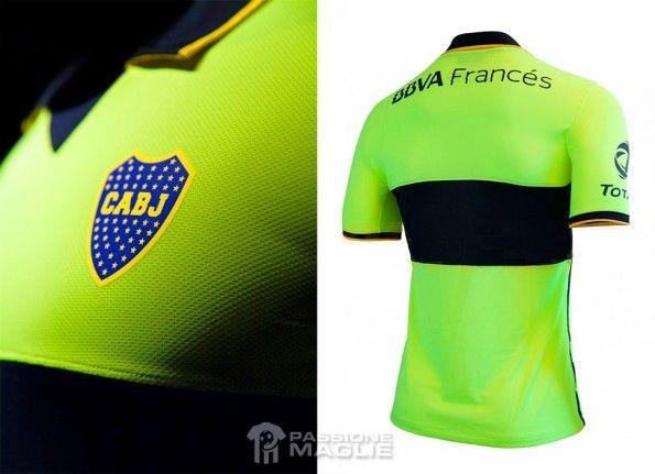 Retro terza divisa gialla Boca Juniors 2014