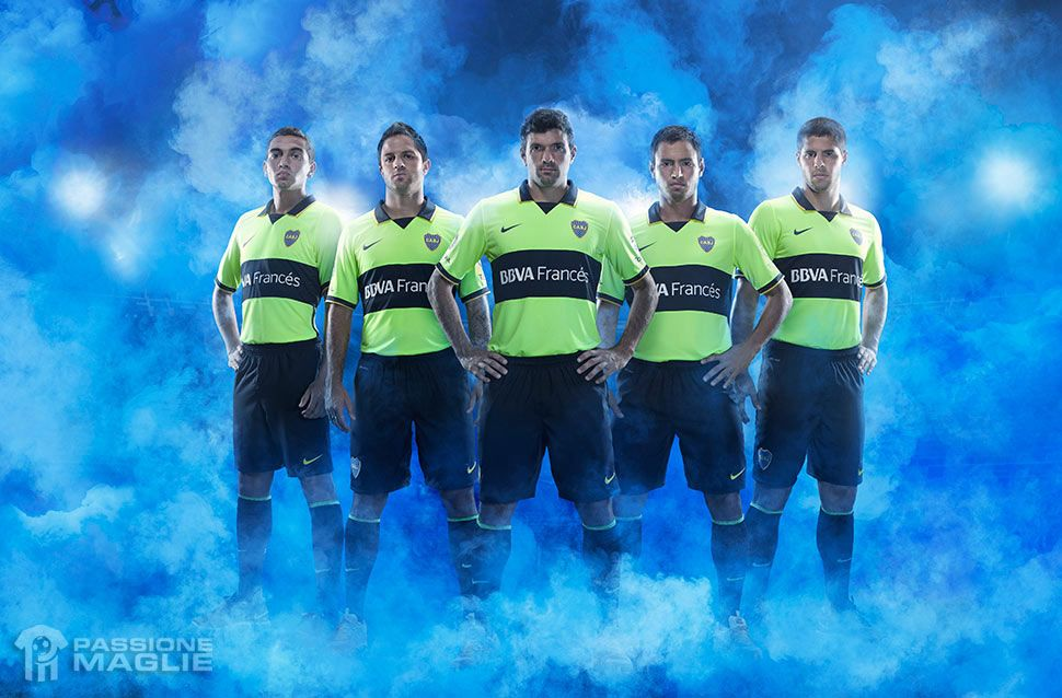 Boca Juniors third kit 2014
