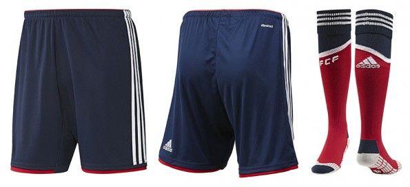 Pantaloncini calze Colombia away 2014