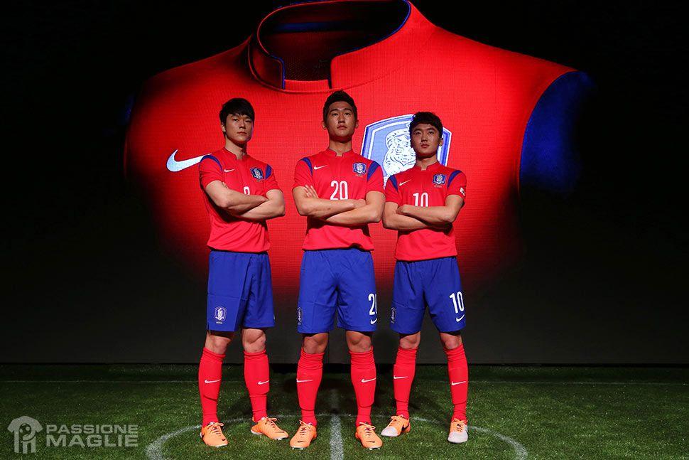 Maglia Corea del Sud Mondiali 2014