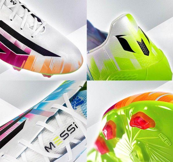 Dettagli scarpe F50 adizero Messi 2014