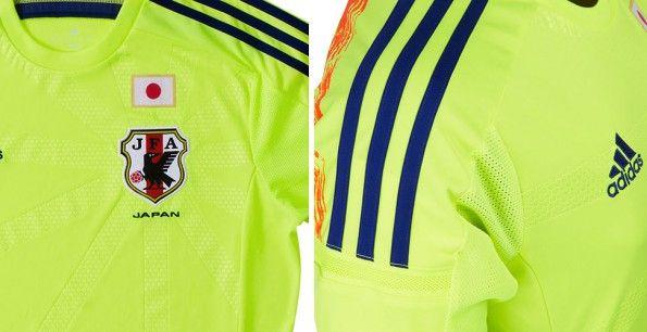 Dettagli maglia Giappone away 2014