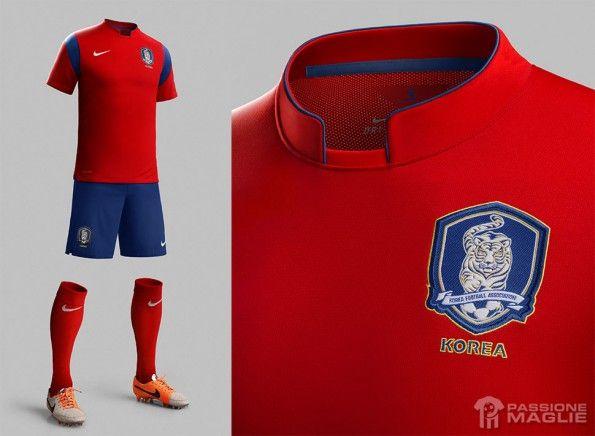 Divisa Corea del Sud 2014 Nike