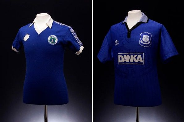 Kit Everton vintage Umbro