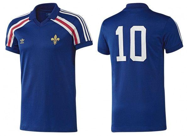 Maglia Francia retrò adidas 2014