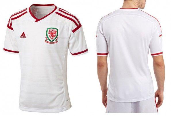 Seconda maglia Galles 2014-15 adidas
