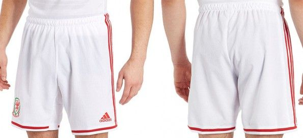 Pantaloncini Galles bianchi 2014