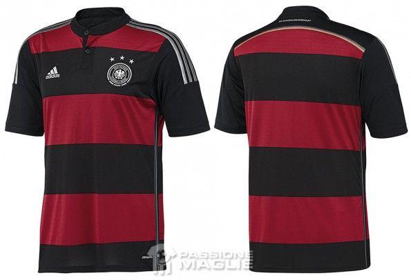 Seconda maglia Germania 2014