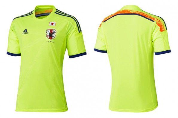 Seconda maglia Giappone Mondiali 2014
