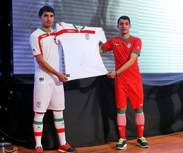 Kit Iran World Cup 2014