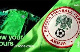 Divisa Nigeria 2014 verde adidas