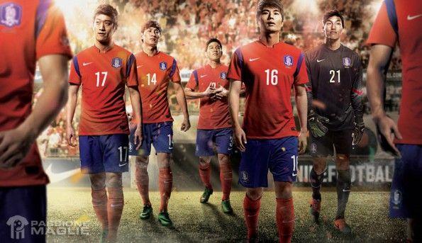 Corea del Sud kit 2014 Nike