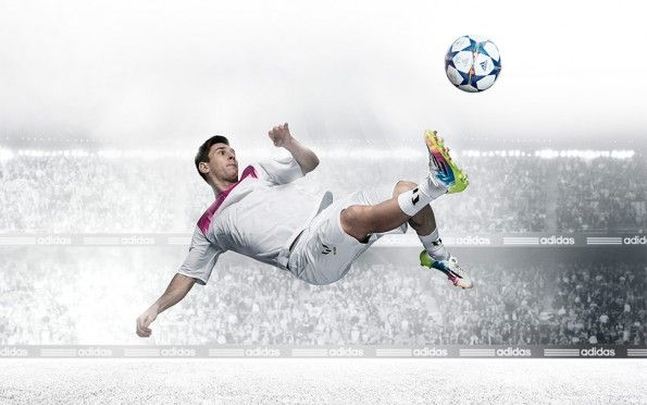 Messi scarpe F50 colorazione Champions 2014